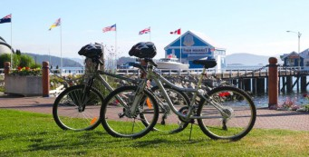 Sidney Waterfront Inn bikes