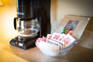 Sidney Waterfront Inn coffee